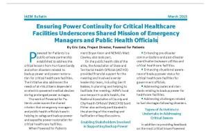 IAEM article thumbnail March 2015